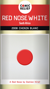Damien Hirst's Red Nose for Comic Relief