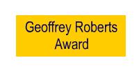 Geoffrey Roberts award