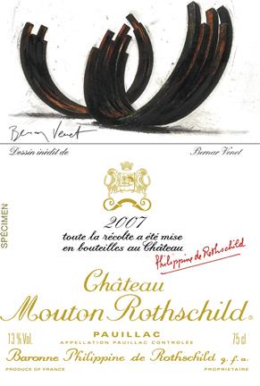 Chateau Mouton Rothschild 2007