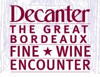 Decanter Bordeaux Fine Wine Encounter