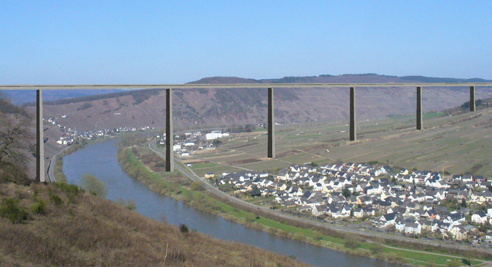 Mosel Bridge - artist's impression