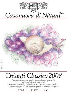 Gunter Grass Label for Nittardi