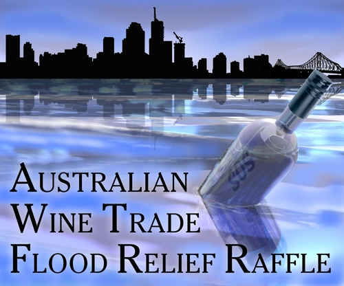 Queensland flood raffle
