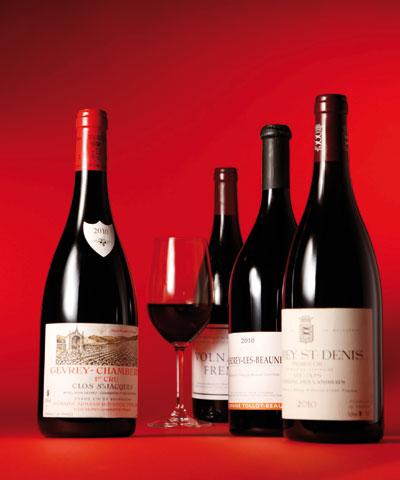 red burgundy 2010, red burgundy