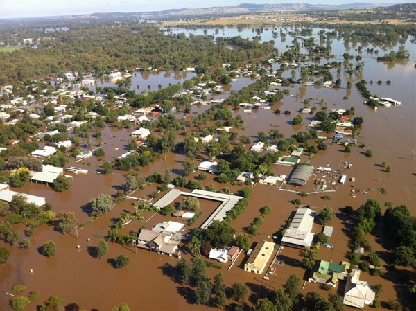 Riverina floods Australia
