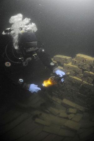 aland champagne shipwreck