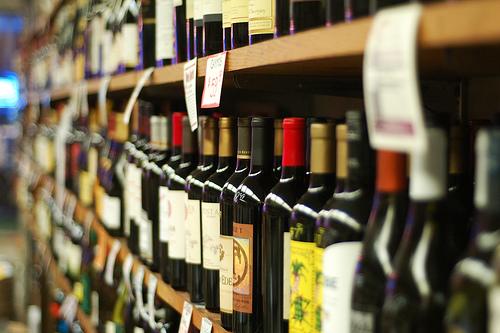 supermarket wine