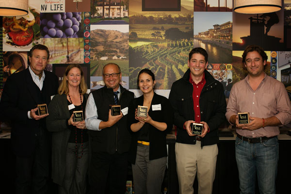 San Francisco Napa Valley best of wine tourism 2013 winners