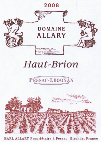 Allary haut brion