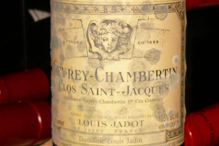 Clos St Jacques with mould