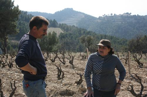 Eric Michel and Lydia Bourguignon