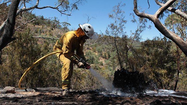 Clare Valley bushfire
