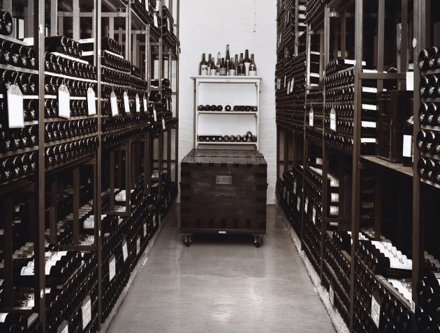 The UK government wine cellar in London