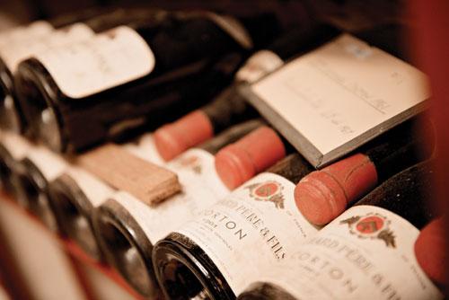 Government wine cellar