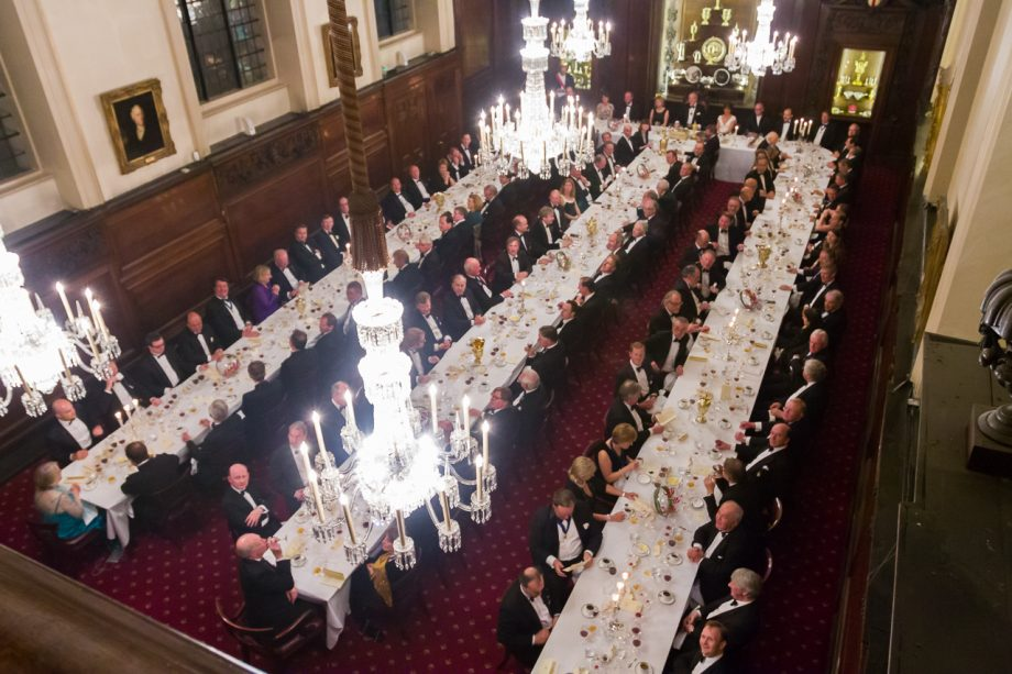 The Vintners Company 650th anniversary dinner