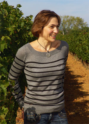 Interview delphine glangetas chief winemaker for les for Delphine bataille