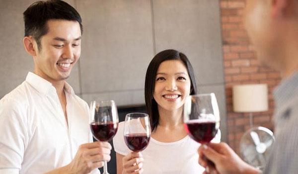 chinese, china wine, wine, drinkers