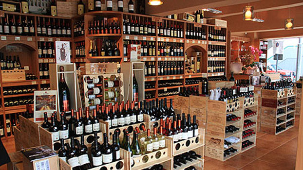 Chinese wine shop
