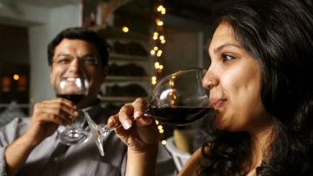 India wine