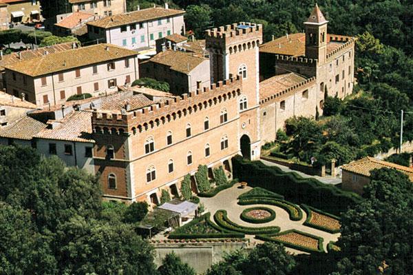 Etruscan riviera, Bolgheri castle Etruscan riviera