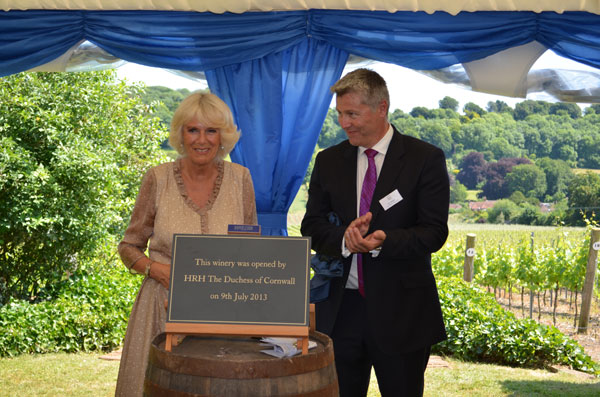 Camilla and Ian Kellet Hambledon Winery