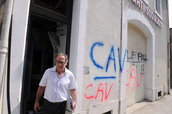 CAV bomb attack Carcasonne