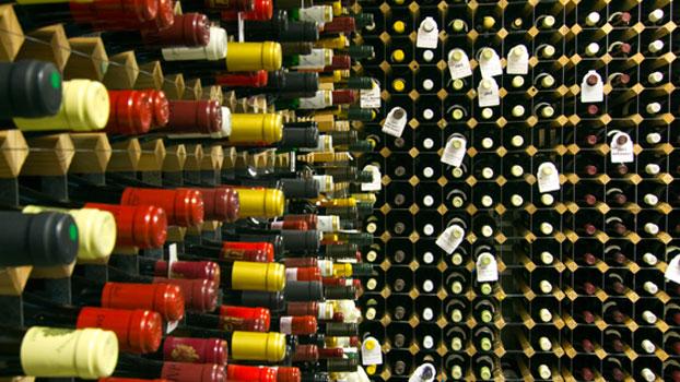 The Whistler wine cellar