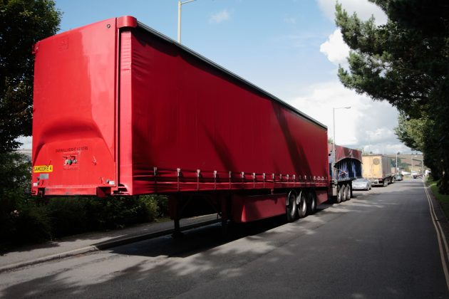 lorry trailer