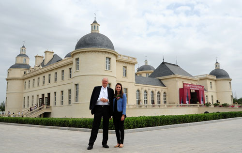 Laurenz and Sophie Moser Chateau Changyu Moser XV