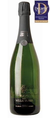 DWWA 2013 International Trophies, Charles Heidsieck Blanc des Millénaires Champagne France 1995