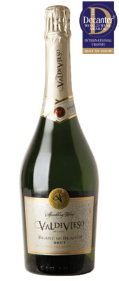 DWWA 2013 International Trophies, Valdivieso Blanc de Blancs Brut Chile NV