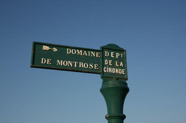 Montrose sign