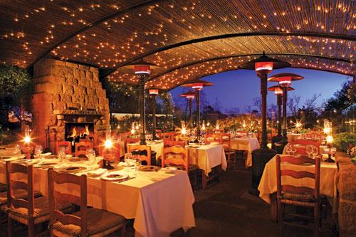 California restaurants, San Ysidro Ranch California