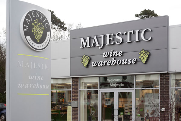 DWWA 2013 Retailer Awards, Majestic