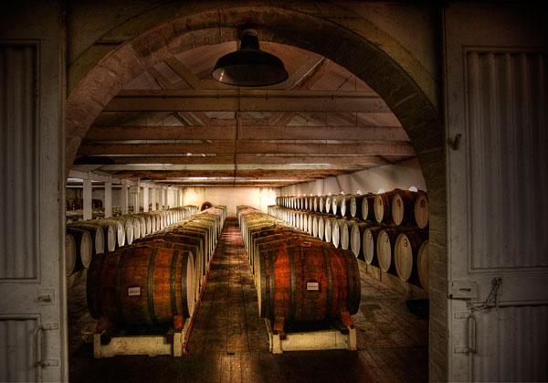 100 yr old cellar Seppeltsfield Winery Barossa Valley