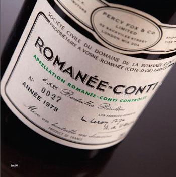 Counterfeit 1978 Romanee Conti