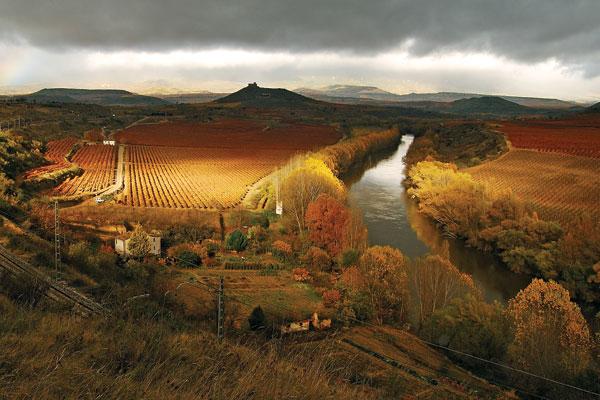 Village of San Asensio Rioja