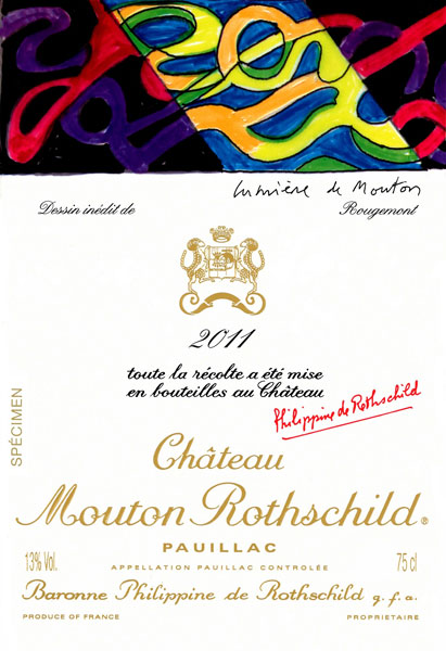 Chateau Mouton Rothschild 2012