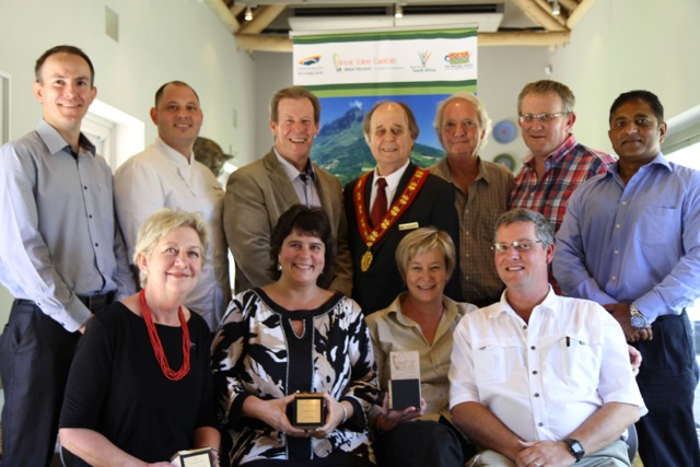 2014 Best Of Wine Tourism Awards Cape Town