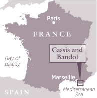 Cassis & Bandol travel guide