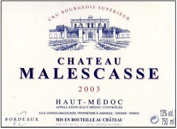 Malescasse label