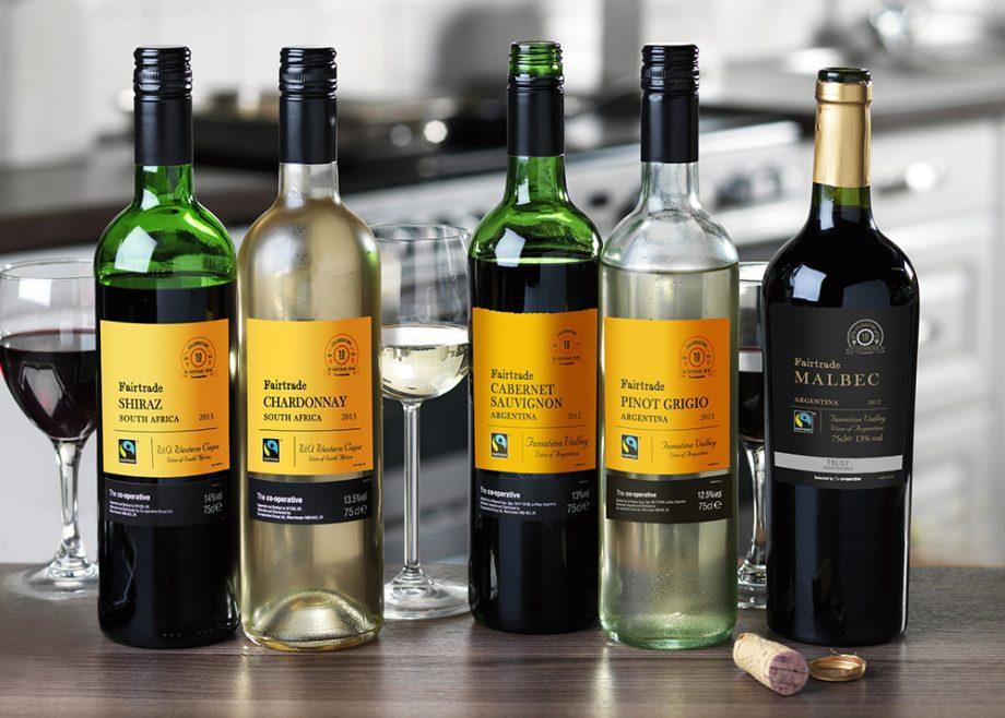 Co-op Fairtrade wines