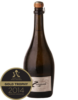 Argentina Wine Awards 2014, Zuccardi Blanc de Blancs 2007