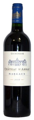 Margaux 2013, Chateau dArsac 2013
