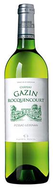 Pessac white 2013, Graves white 2013, Chateau Gazin Rocquencourt blanc 2013