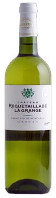 Pessac white 2013, Graves white 2013, Chateau Roquetaillade la Grange blanc 2013