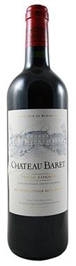 Graves red 2013, Pessac leognan red 2013, Chateau Baret 2013