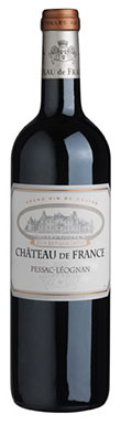 Graves red 2013, Pessac leognan red 2013, Chateau de France 2013