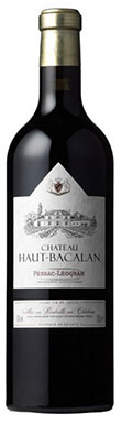 Graves red 2013, Pessac leognan red 2013, Chateau Haut Bacalan 2013