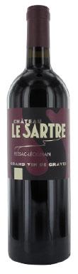 Graves red 2013, Pessac leognan red 2013, Chateau Le Sartre rouge 2013